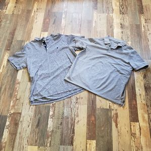 Izod!Goodfellow!Men's Grey Polo shirt Bundle